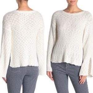 NWOT Cupcakes/Cashmere Kaya Long Sleeve Sweater L